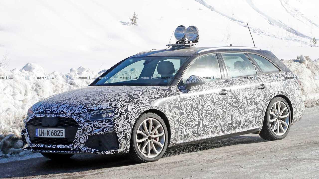 Makyajlı Audi S4 Avant Casus Fotoğraflar