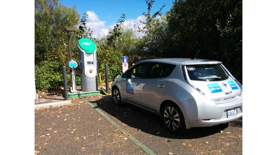 1,500-Mile Nissan LEAF Zero-Emission Road Trip - How We Charge On The Go
