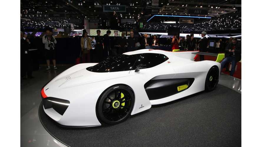 Pininfarina Developing Electric Sports Car