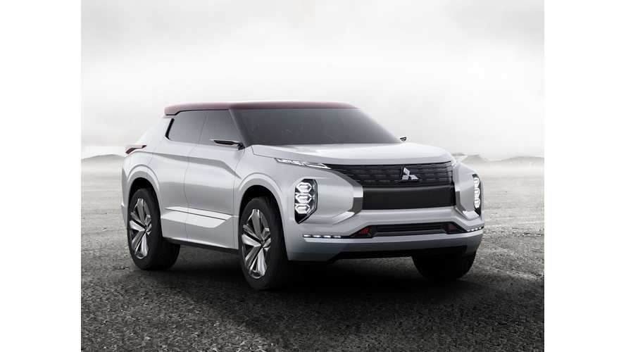 Mitsubishi To Debut GT-PHEV In Paris, A 75 Mile/120 km Plug-In Hybrid SUV