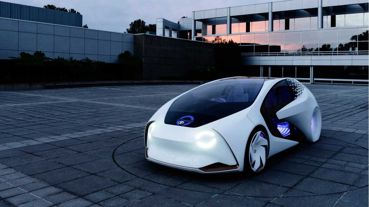 Toyota Concept-i with artificial intelligence on board