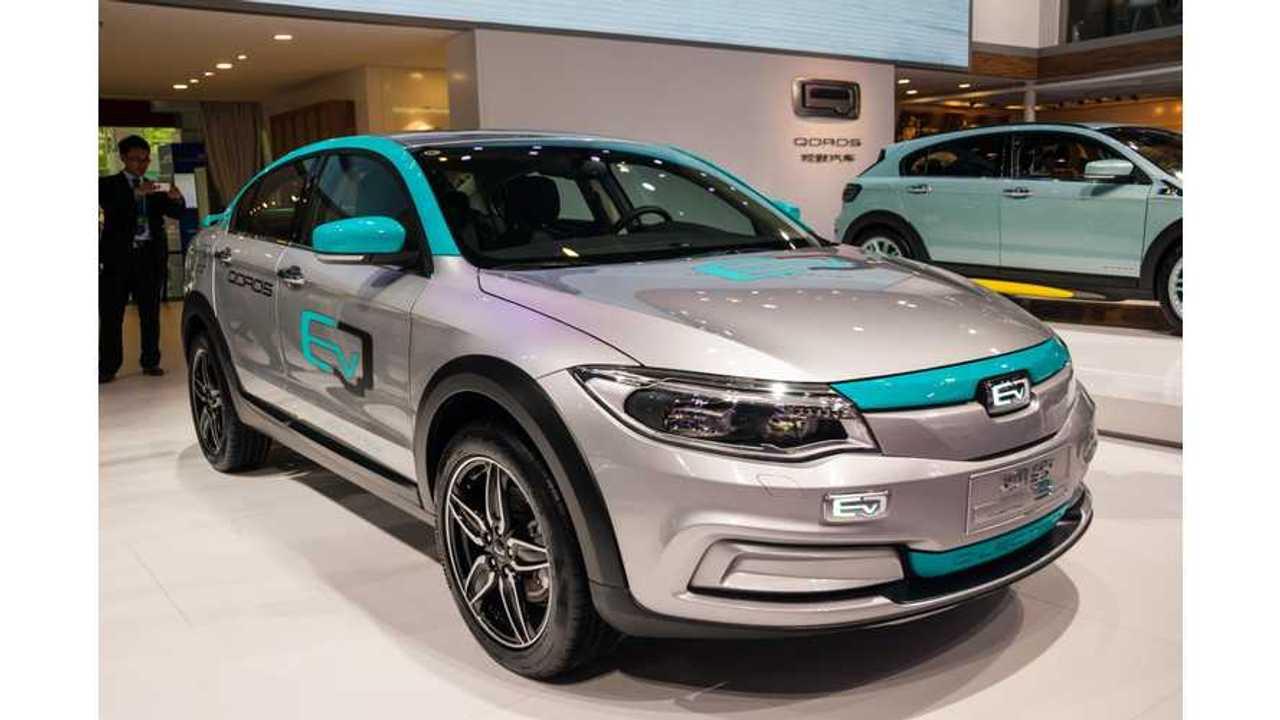 Qoros Green-Lights 350 km/218 Mile EV For End of 2016