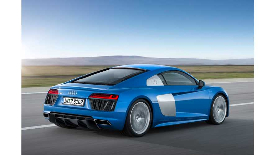 Official: Audi R8 e-tron Fitted With 92 kWh Battery - Range Listed At 280 Miles