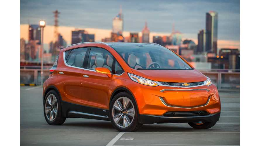 GM: Max Range Of Chevrolet Bolt Is Less Than 200 Miles, GM Update: Whoops, Or More