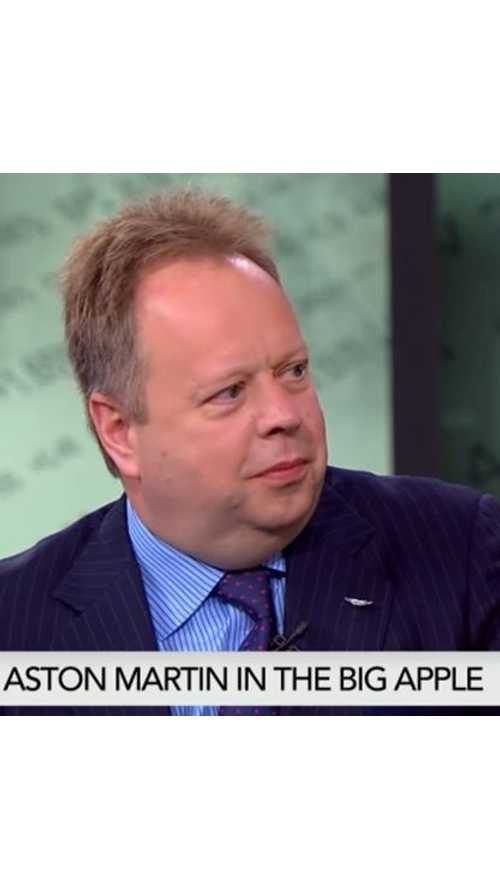 CEO Andy Palmer Discusses Aston Martin's Electric Car Plans - Video