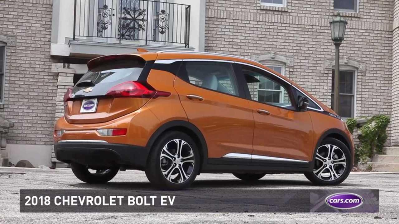 Cars.com: 2018 Chevy Bolt EV Best Car For New Parents