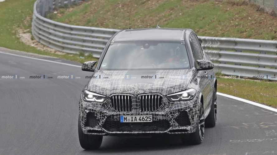 BMW X5 M 2019, fotos espía