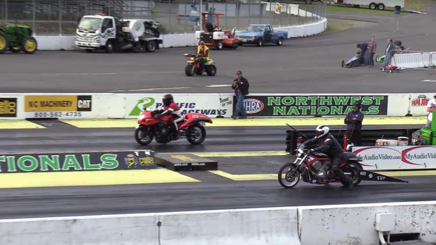 Harley Vs Busa Drag Race: An Unfair Battle? Think Again!