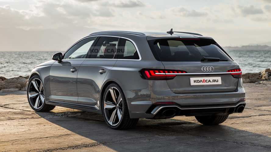 Audi RS4 Avant 2020 - Projeção