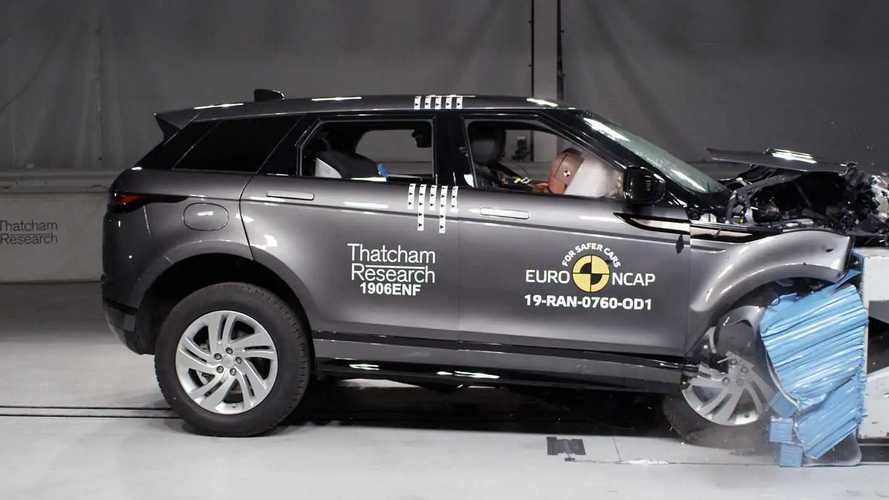 Range Rover Evoque Euro NCAP'ten 5 yıldızı kaptı