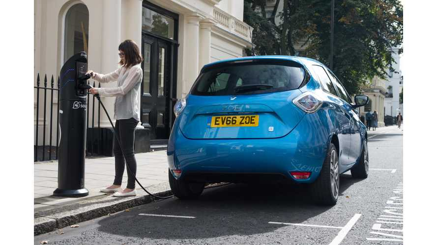 UK Plug-In Electric Car Sales Increased By 37% In April