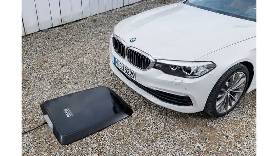 BMW Introduces Factory-Fitted Wireless Charging For 530e iPerformance