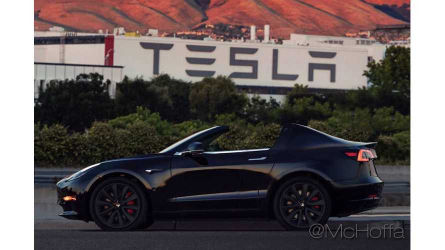 Tesla Model 3 Roadster Rendered