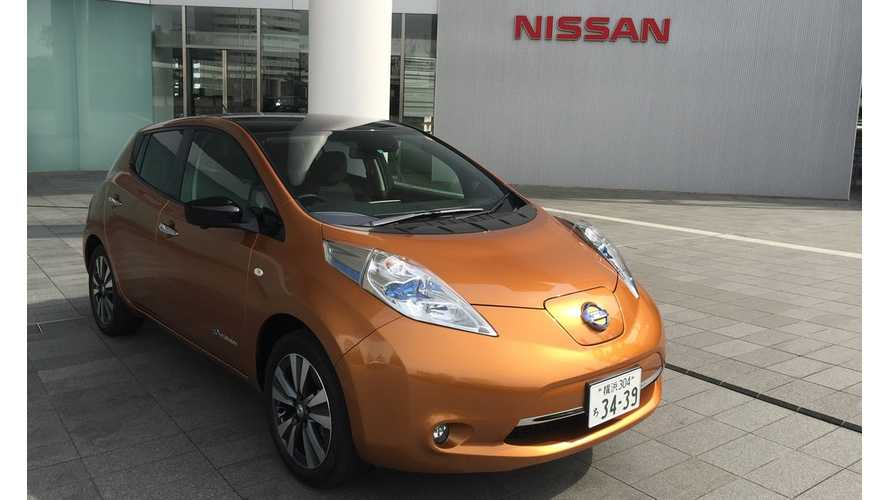 Nissan LEAF Sales Open 2017 Strong In Japan