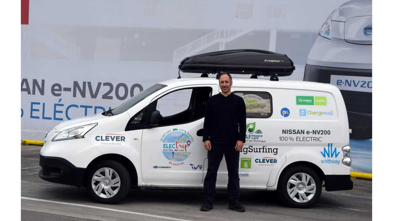 Nissan e-NV200 Goes On Tour, Driving 10,000 km Across Europe's Most Beautiful Vistas