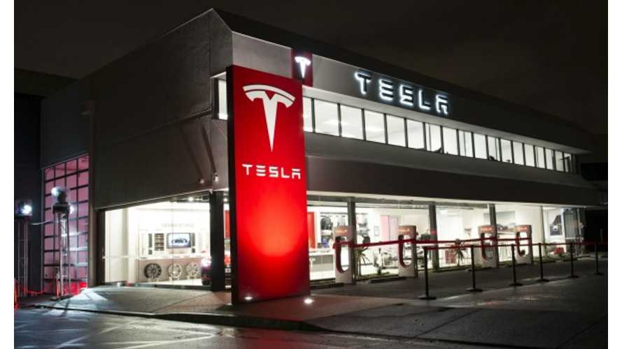 Tesla Showroom Open In Ireland, Demand Far Exceeds Supply
