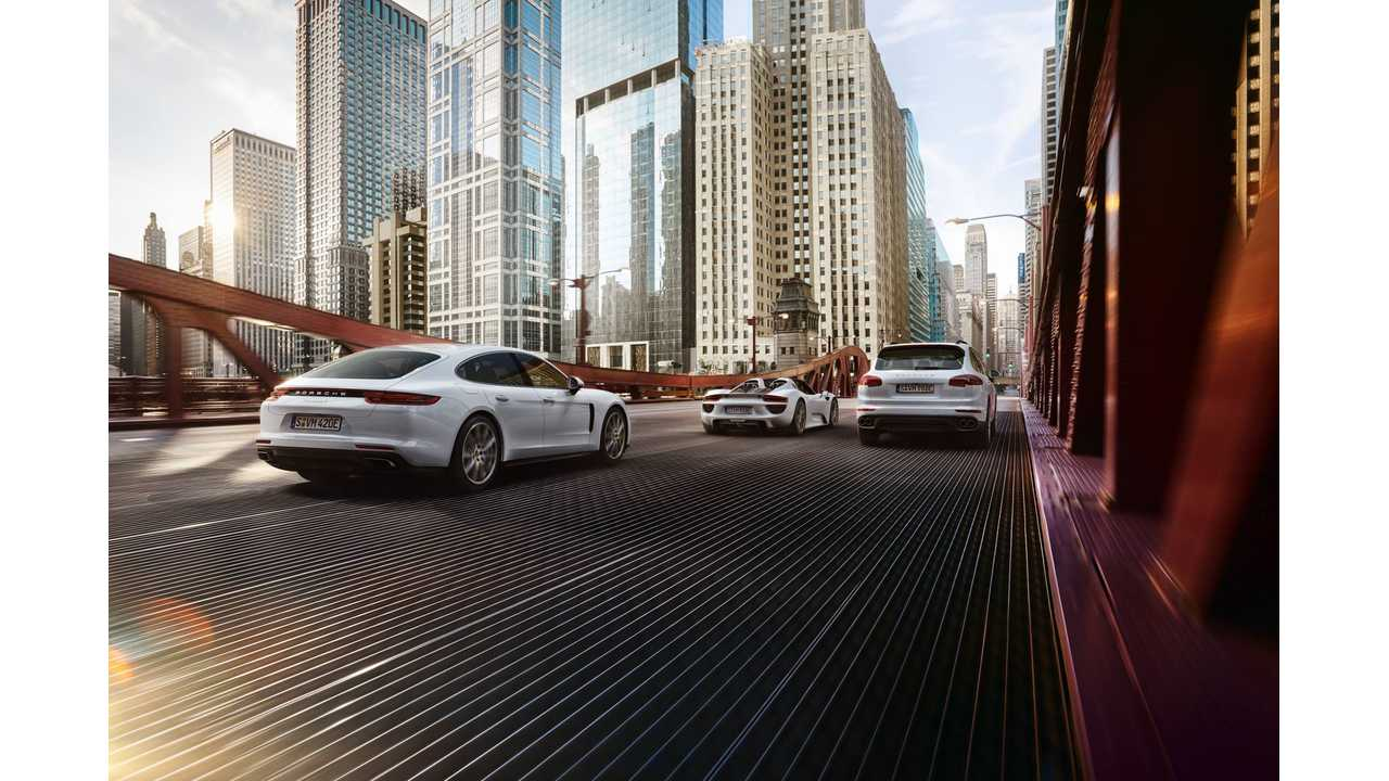 Plug-In Porsche Panamera E-Hybrid Getting Suped Up 500+ HP Variant
