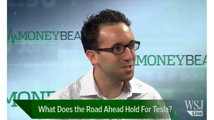 Video: Wall Street Journal Examines the Financial Future of Tesla Motors