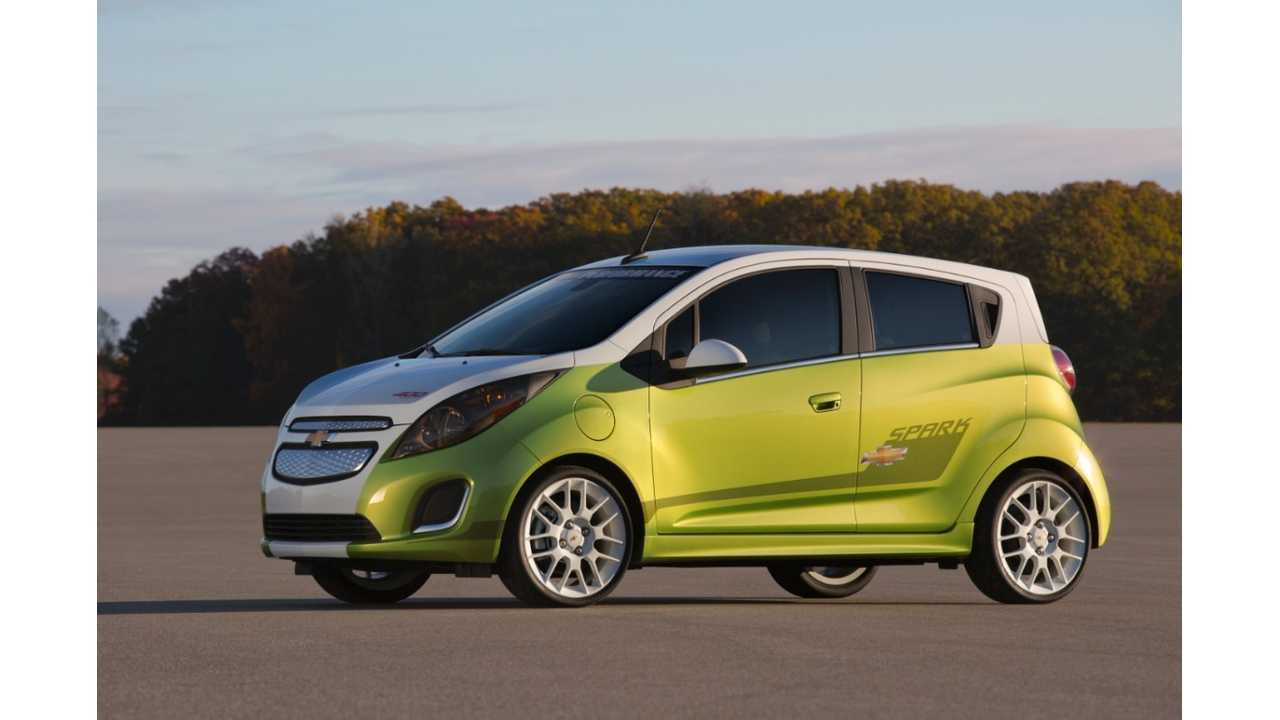 Chevy Spark Ev Priced At 29 995 In Canada Gm Confirms Public