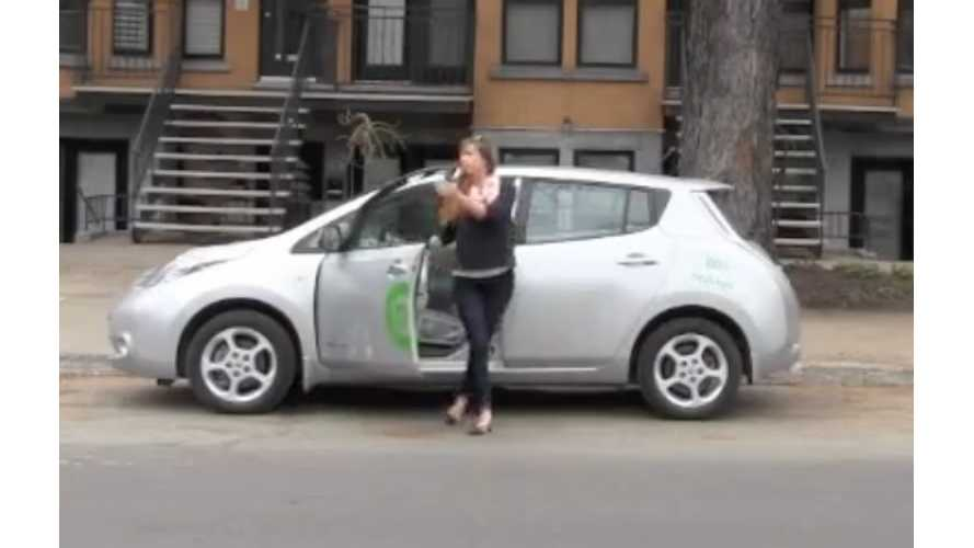 Canada Gets (Reasonably Priced) Car-Sharing With The Nissan LEAF - Video