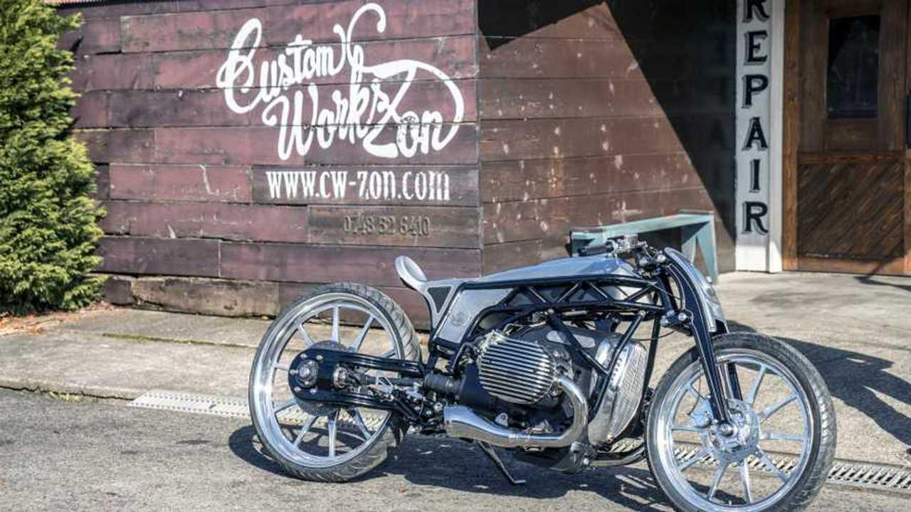 BMW R18 A Custom Works Zon üzleten kívülre került