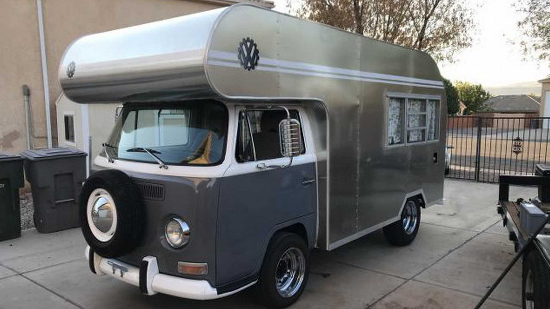subaru-engined vw bus camper is all you need for your next trip