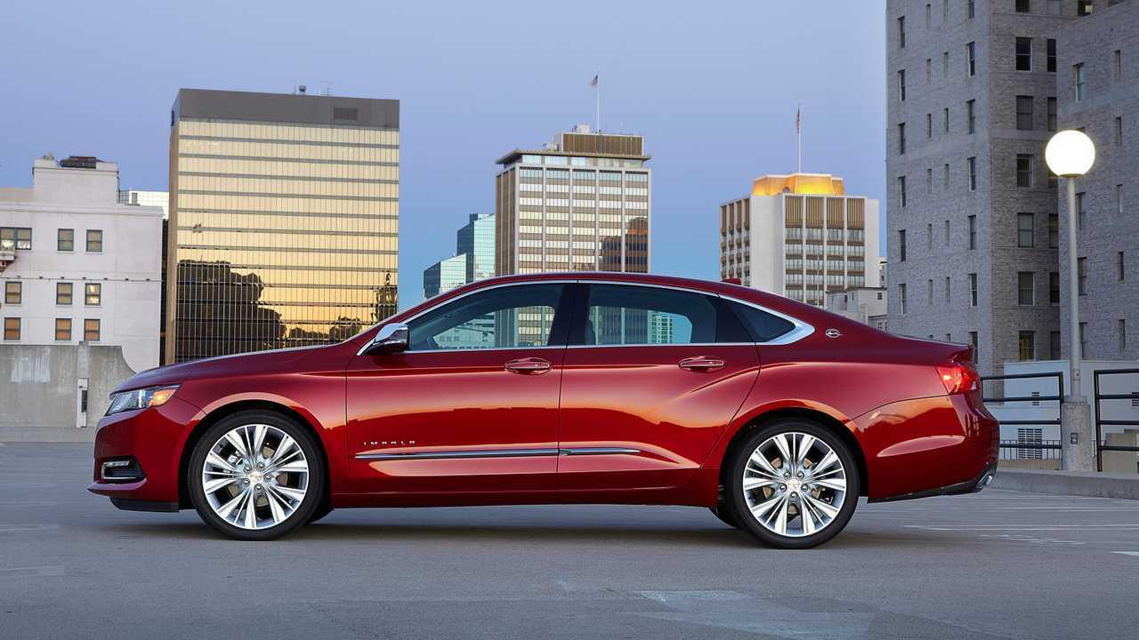 3. Chevrolet Impala: 36.4 Percent
