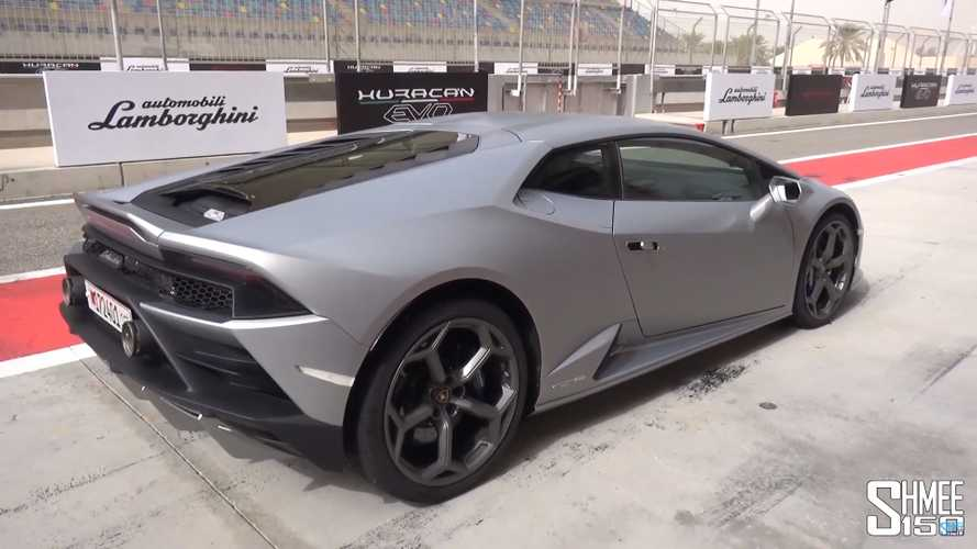 Lamborghini Huracán Evo video tour leaves no stone unturned