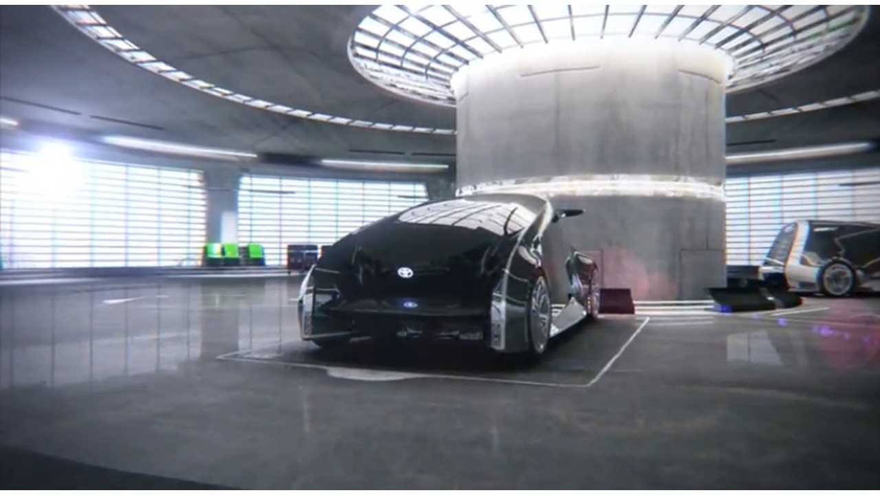Toyota Gives Us Their Vision Of The Future.  And The iiMo