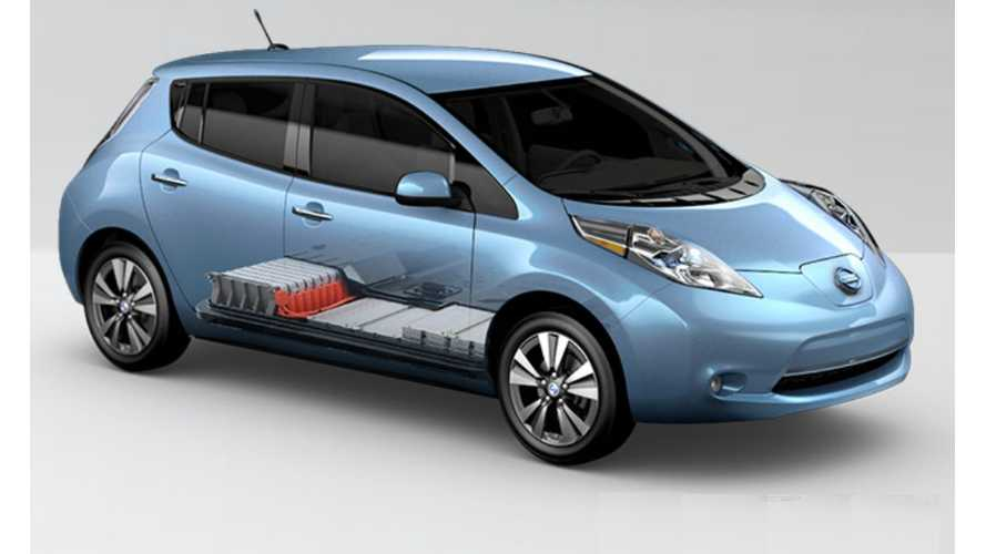 2013 Nissan LEAF MPGe Rating Jumps To 130 City And 102 Highway