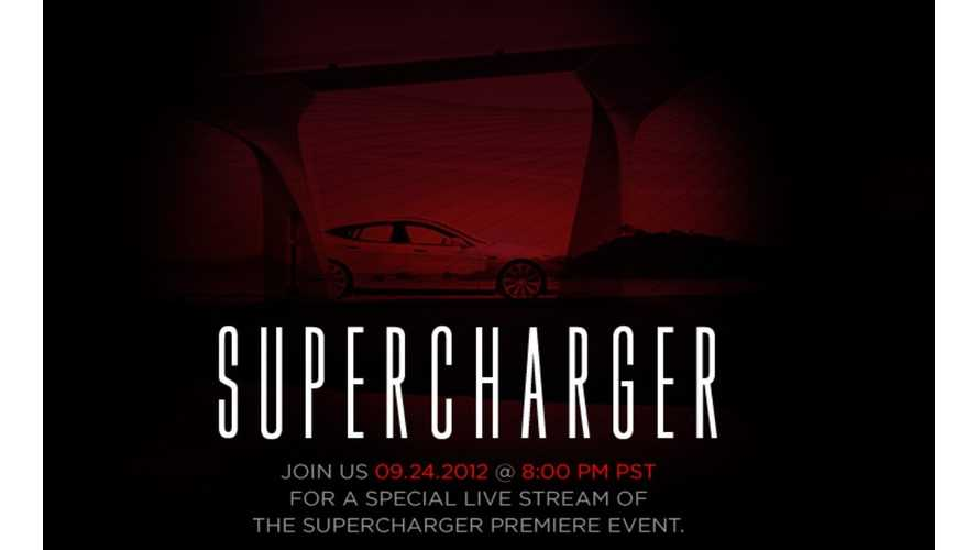 Webcast:  Watch Tesla Unveil Their Supercharger Tonight at 8 PST (11 EST)