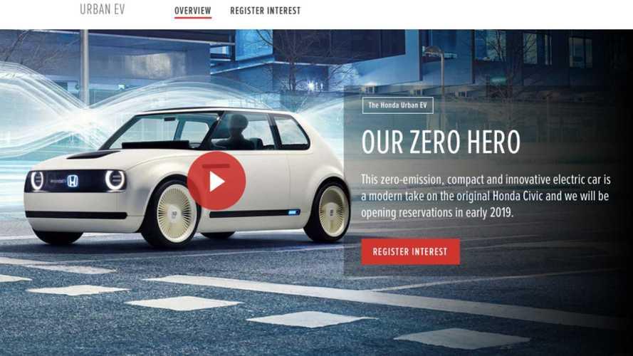 Honda Urban EV ganha site no Reino Unido e poderá ser reservado em breve