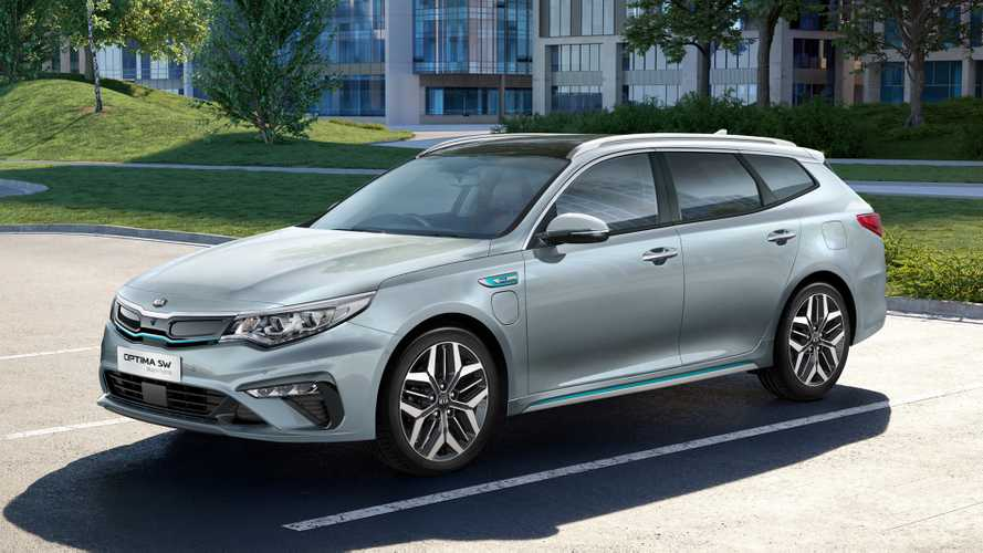 Kia Optima Sportswagon PHEV 2019