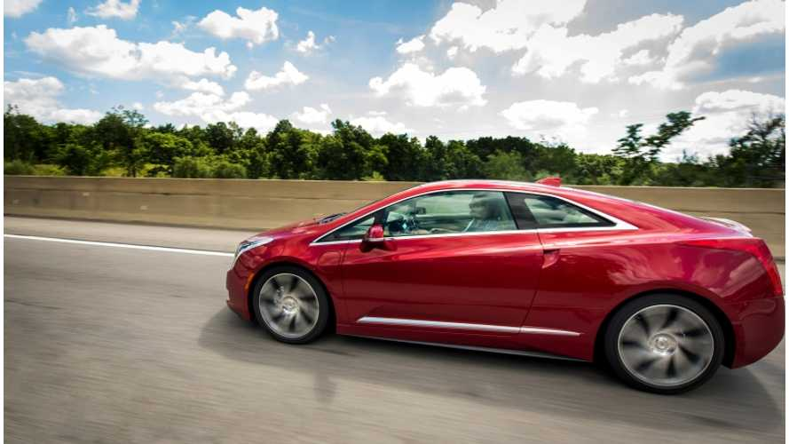 Cadillac Sales Chief Says More Plug-In Cadillacs Will Likely Come After Launch of ELR