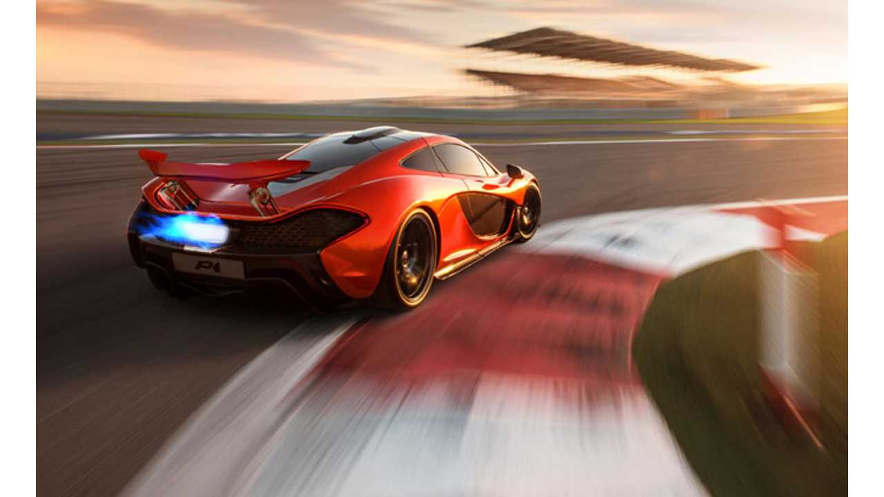 The McLaren P1 Plug-In Hybrid's Electric System Functions Unlike All Others