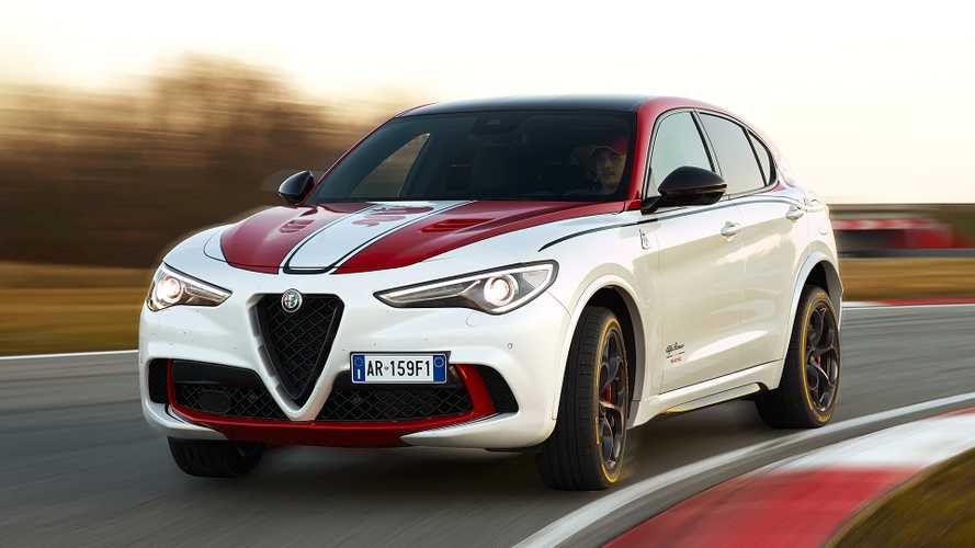 Stelvio Quadrifoglio Alfa Romeo Racing