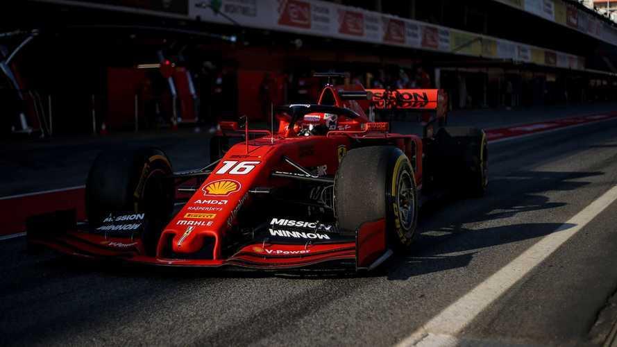 Leclerc emozionato per il debutto in Australia con la Ferrari