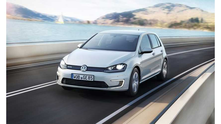 2015 Volkswagen e-Golf to Make US Debut at LA Auto Show; Will Go On Sale in US in Late 2014