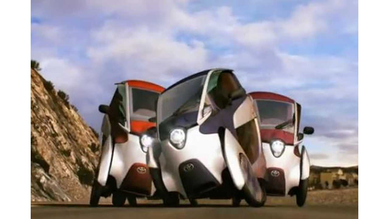 Leaning Electric Toyota i-Road Enters Limited Production