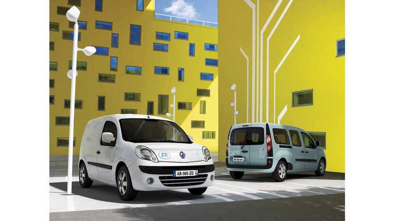 Renault Kangoo Z.E. Retains GreenFleet Title of