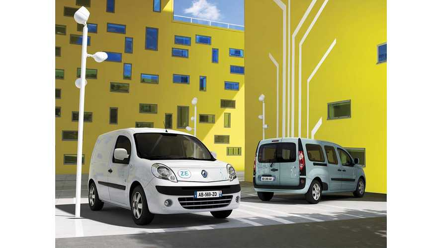 Renault Kangoo Z.E. Retains GreenFleet Title of