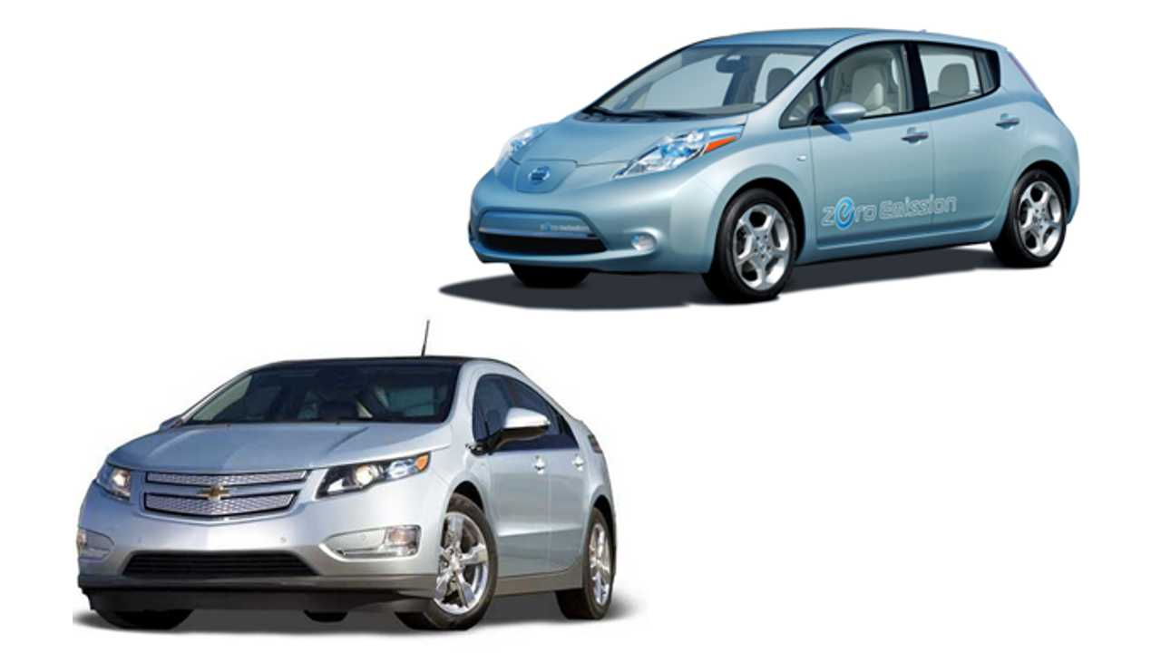 After First 9 Months of 2013, Chevy Volt and Nissan LEAF Take #138 and #140 on Overall US Sales Chart