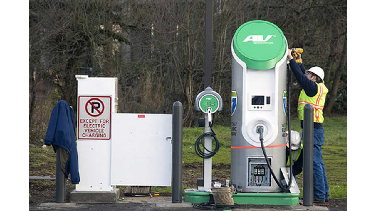 Napa Valley Gets Latest Donated CHAdeMO Charger From Nissan; Charging is Free