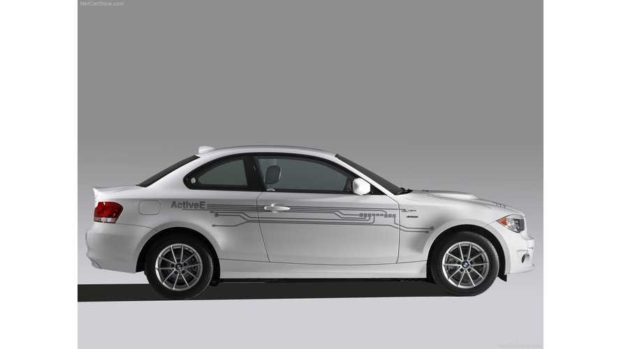 Power Steering Failure On BMW ActiveE Prompts Recall