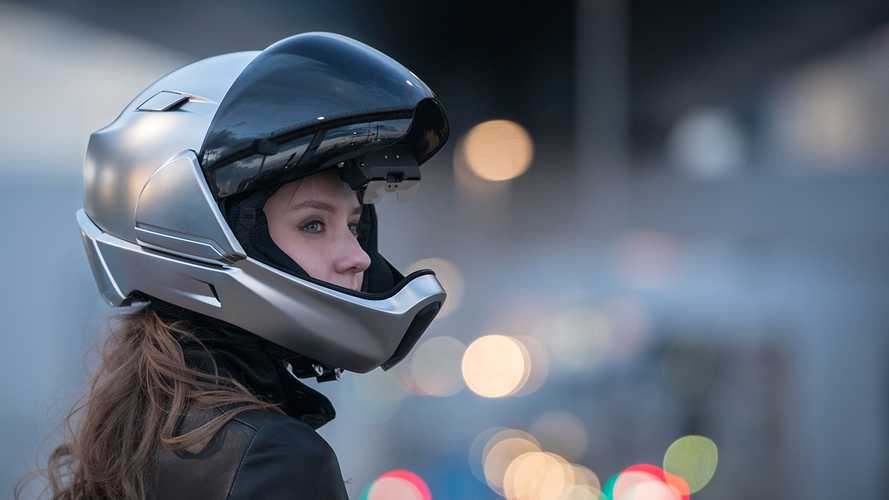 The X1 Smart Helmet Is A Sweet Sci-Fi-Looking Lid
