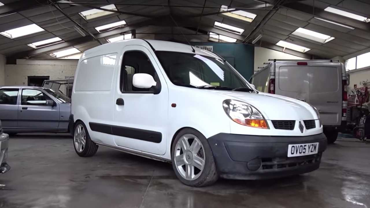Renault Kangoo With Megane RS Engine