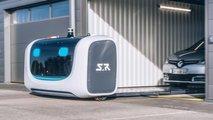 Gatwicki repülőtér a robotfülkék parkolásához