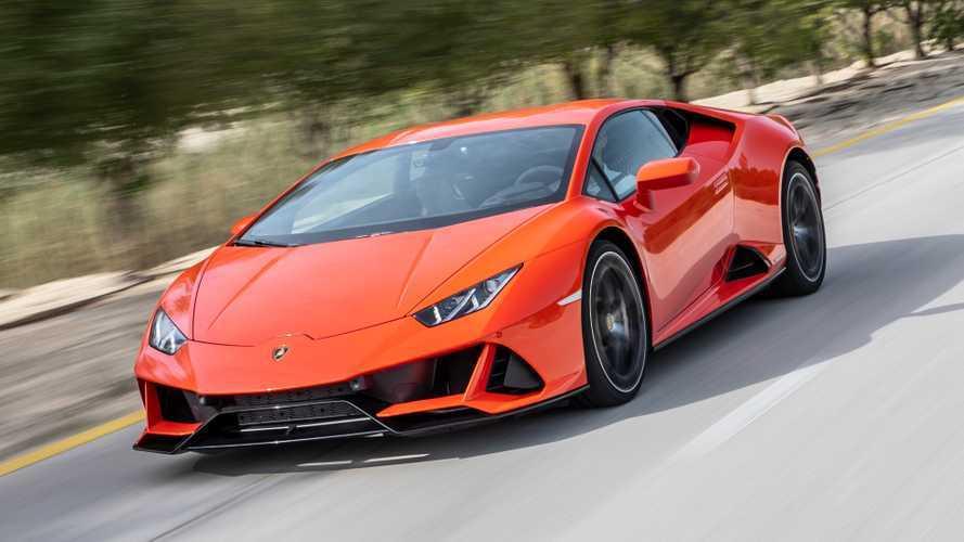 TEST GALLERY Lamborghini Huracan EVO Arancio