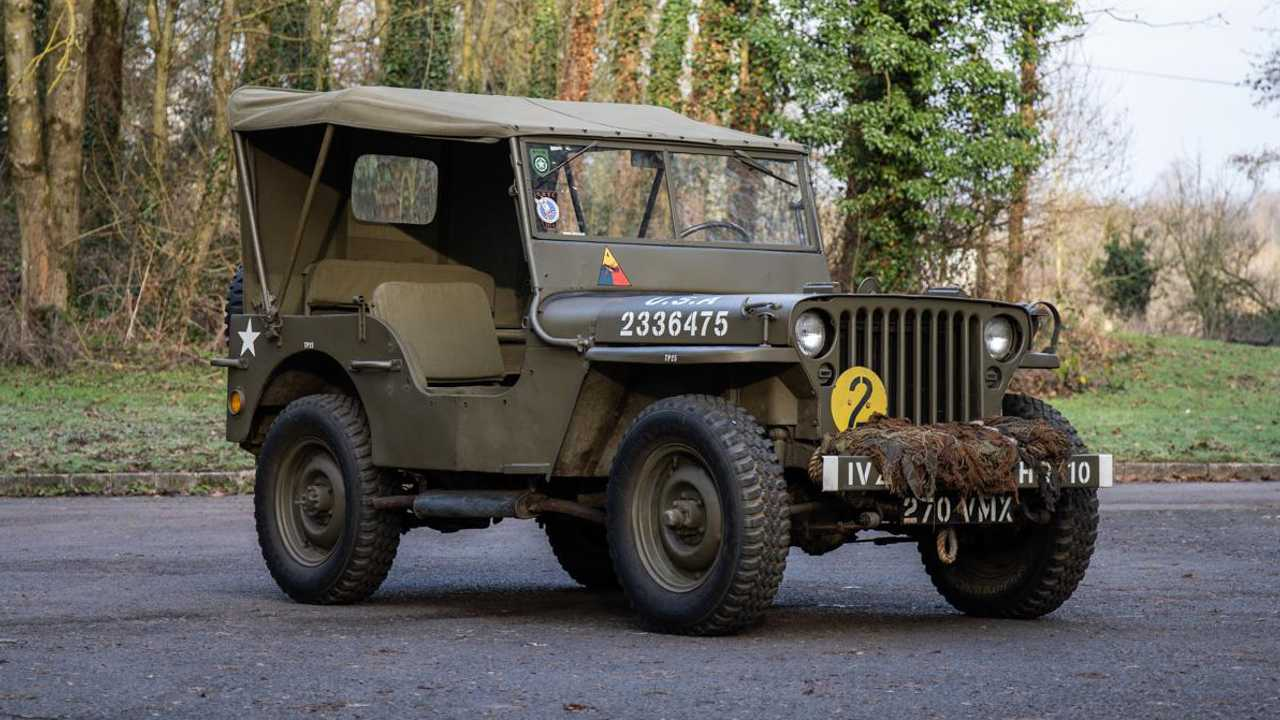 1942 Willys Jeep – to be auctioned