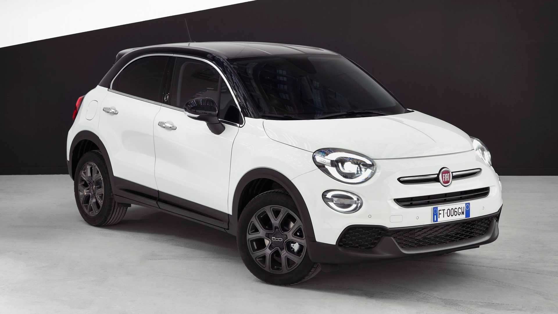Fiat 500x 120th Anniversary Edition Arrives Wearing Lots Of Black Trim